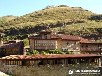 Ruta de senderismo --- Parque Natural Saja-Besaya; alta montaña; la panera el espinar